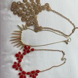 Three Francesca's necklaces !